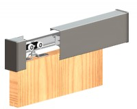 Pelmet Kit for Herkules 60 & 120 - Doors up to 45mm thick