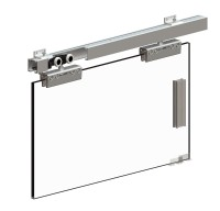 Herkules Glass - Kit for 1 glass door up to 100kg